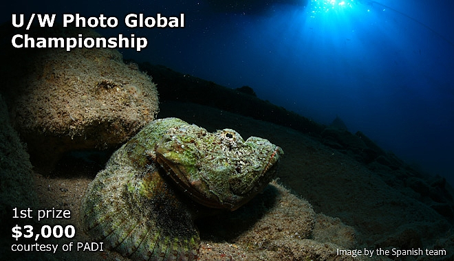 U/W Photography Global Championship